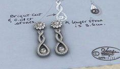 diamond earrings cad 2