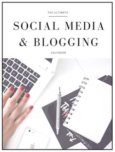 Never run out of Social Media or blog post ideas ever again! The ULTIMATE calendar with every day