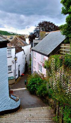 "Fowey, Cornwall, England. Setting for ""Lob's Girl""!!!"
