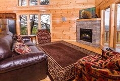 Gatlinburg Cabins   Pigeon Forge Cabins: 3 - 5 bedroom cabins