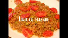 Linte cu mazare. O mancare delicioasa,sanatoasa si simplu de preparat. Supe, Grains, Food, Essen, Meals, Seeds, Yemek, Eten, Korn