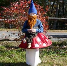 Gnome#Repin By:Pinterest++ for iPad#