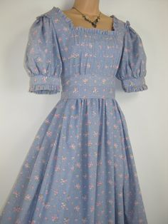 LAURA ASHLEY Vintage Regency Style Rose by VINTAGELAURAASHLEY, £145.00:want to sew this dress some day!