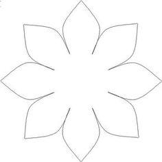 BLOG DA TIA JAQUE: Moldes de flores
