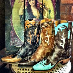Lucchese Cowgirl Boots at RiverTrail in North Carolina.