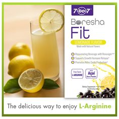 #Wellness-Tip: With a tasty twist of lemon and a hint of acai berry, the delicious Fit beverage is great for boosting your cardio fitness and stamina when out and about, on a bike or a hike. This lemonade flavored drink is a fruity boost made with the ingredient L-arginine, an amino acid that's converted to nitric oxide which helps improved blood flow.