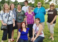 Library Staff at Baking Contest 2013 (Megan, Rachel, Susan, Josh, Bobbe, Jacob, Janet, Calla, Cait) missing Audrey, Shelby, Nathanel