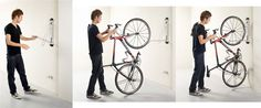 Steadyrack SteadyRack - Swivel Wall Mount Bike Rack - Bike Storage - The Garage Store