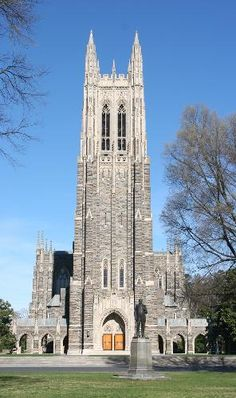 Duke Chapel - Durham, NC - A Chapel Rich in Architectural Style