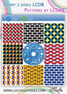 LCD 8 | Order at www.lucyclaystore.com/en/80-lcdisk-1.html | Product website: www.czextruder.com