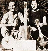 """Nice photo of Woody Guthrie and Maxine """"Lefty Lou"""" Crissman (later Dempsey).  This would have been shot before the Prestos were made.  The """"Woody and Lefty Lou"""" show is discussed in detail in my book at the attached link."""