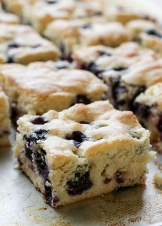 Six Ingredient Blueberry Snack Cake - traditional and gluten free recipes by Barefeet In The Kitchen #glutenfree #healthy #recipe #gluten #recipes