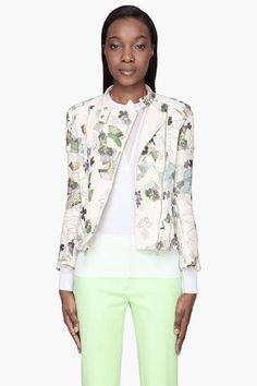 This 3.1 Phillip Lim floral biker jacket is an edgy-yet-sweet addition to your spring wardrobe