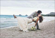 Eddie Vedder and Jill McCormick on their wedding day.