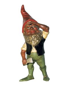 Gnome figures appeared in Scandinavia about 1,500 years ago. Both male and female representations are well known in many countries, including Germany, Denmark, Norway, and the United States. Legend has it that gnomes come from the forest as true-to-life characters with a love and passion for nature and are meant to protect one from trolls and other forest spirits. These figures have evolved to become symbols of hope, luck, and goodwill.