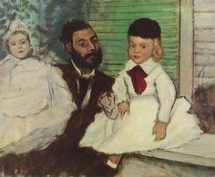 Artwork history: Edgar Degas