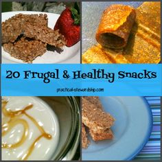 The Cost of School Lunches & 20 Frugal Back-to-School Lunch Snack & Side Ideas for On-the-Go Times | practical-stewardship.com