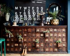 FURNITURE i freaking wish - vintage apothecary cabinet as featured in extraordinary interiors by rockett st george Loft Interior, Interior Exterior, Interior Design, Apothecary Decor, Apothecary Cabinet, Bandeja Bar, Warehouse Home, Warehouse Apartment, Bone Crafts