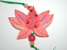 Hands On Crafts for Kids - India Lotus Ornament: Possible Thinking Day craft idea?