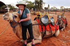 The only way to travel! Uluru Camel Ride