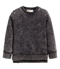 Sweater   Zwart washed out   Kinderen   H&M NL