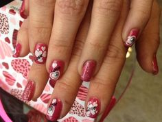 Day 42: Hearts Aplenty Nail Art - - NAILS Magazine