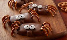 HERSHEY'S Kitchens   REESE'S Peanut Butter Pumpkin Spider Recipe