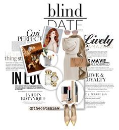 """""""Blind Date: A-List"""" by belleforcible on Polyvore featuring Whiteley, Louis Vuitton, Black Rivet, AERIN, Versace, Chanel, Trish McEvoy, Dolce&Gabbana, Marc Jacobs and Jason Wu"""