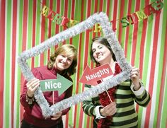 Posts about Christmas Photo Booth on All Things MOPS Office Holiday Party, Xmas Party, Holiday Parties, Tea Parties, Photos Booth, Photo Booth Frame, Christmas Photo Booth Props, Christmas Carnival, Christmas Frames