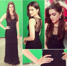 Kriti Sanon black dress