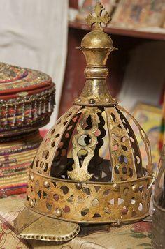 Crown at the Monastery of Na'akuto La'ab by A. Davey, via Flickr