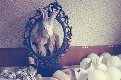 fashion shoots referencing rabbits - Google Search