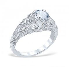 Each Whitehouse piece of jewelry begins as raw material. Pure Platinum, Gold and Palladium are melted to form an ingot, which is then rolled or drawn into sheets and wire. The end result is this gorgeous ring.