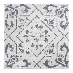 Vintage Ceramic Tile Washed White is a Moroccan design tile for floors and walls applications such as kitchen, backsplash, bathroom, and shower. Get a sample today! Bathroom Floor Tiles, Kitchen Tiles, Kitchen Flooring, Wall Tiles, Lowes Backsplash Tile, Tile Flooring, Backsplash Ideas, Flooring Ideas, Toilet Tiles