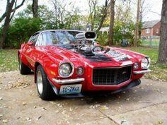 Blown 70s Camaro!