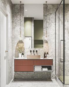 34 Beautiful Bathroom Color Scheme Ideas for Small & Master Bathroom – housedecor Bathroom Interior Design, Interior Design Living Room, Living Room Decor, Bathroom Designs, Bathroom Ideas, Bedroom Decor, Casa Top, Bathroom Color Schemes, Toilet Design