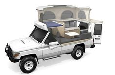 Toyota Landcruiser Pop Top