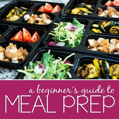 3 Step Beginner's Guide to Meal Prep « How to Meal Prep with Tips & Tricks to get you started + a FREE Meal Plan Printable | www.emilybellfitness.com