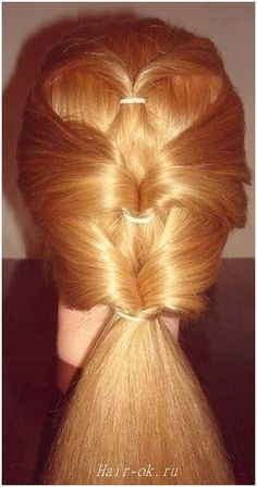 Original hairstyle in 5 minutes. Continued. Figure 7. http://beauty-health.info