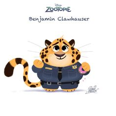 Chibi-Clawhauser-Gilson-70 by princekido on DeviantArt