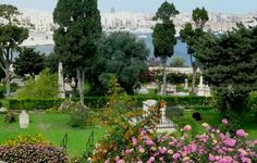 Msida Bastion Historic Garden located near Floriana.