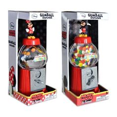 MAQUINA DE CHICLES 22 CM MICKEY MOUSE / MINNIE MOUSE