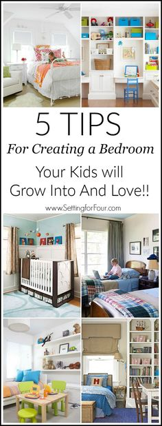 Save money and time! 5 Tips for Creating a Kids Bedroom They Will Grow Into and…