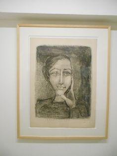 Mademoiselle Francoise. Obra invitada en el 2015 en el Museo Picasso.