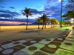 Melhor De Santos: As calçadas de Santos