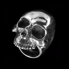 Huge silver skull
