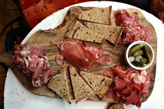 Could you resist this charcuterie board at Champagne + Fromage, a bubbly restaurant near Covent Garden?
