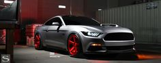 #SaviniBlackDiForza #Wheels BM11 in custom Brushed Red on a #Ford #Mustang. #SaviniBlackDiForzaWheels #SaviniWheels #FordMustang #customwheels #Rims #customrims #AWTHouston #AmericanWheelandTireHouston #AmericanWheelandTire #AWTOffRoad #Houston - http://tinyurl.com/Savini-Black-Di-Forza  We finance! No credit needed! $49 down! Instant approval! 90% approval rating! 90 day option! #Financing #WheelFinancing  Call us at (713)682-1085 for more information or apply online…