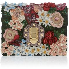 Dolce & Gabbana Brocade Clutch (78.820 ARS) ❤ liked on Polyvore featuring bags, handbags, clutches, floral, floral print purse, brocade purse, floral purse, flower print handbags and floral print handbags