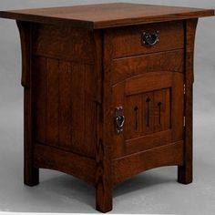 French Style Oak Bedside Table | French Style Oak Collection ...